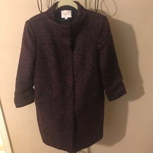 🎉Nice womans Ann Taylor zip up coat size small🎉